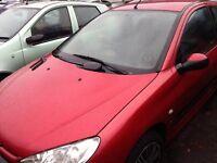 Peugeot 206 Bonnet, Breaking whole car all parts available