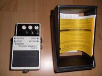 Boss NS 2 only used twice. as new condition.