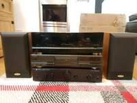 Full music audio system for sale - will sell altogether of individual