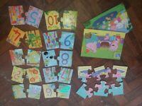 Educational kids children's JIGSAW PUZZLES