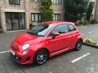 Abarth 595 with low mileage and full service history. Balance of manufacturers warranty up to Apr 19