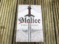 John Gwynne Malice Numbered Signed limited first edition