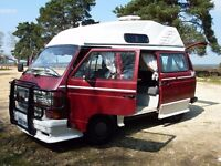 VW T25 campervan 1990 – Turbo Diesel - only 7,000 miles since new engine fitted