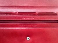 leather travel document/tickets wallet