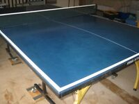 SPIDER OUTDOOR TABLE TENNIS TABLE - FULL SIZE (5' X 9')