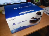 Playstation PS4 VR Headset - Brand New - Unopened. Genuine Reason for Sale