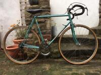 Vintage Peugeot Record du Monde steel frame road bike