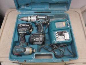 Makita Drill Combo Set for sale. We buy and sell used power tools! 3148