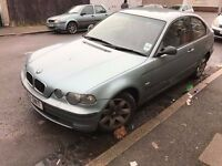 BMW 318 COMPACT SPORT 2002 £350
