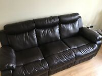 3 seater sofa, 2 year old good condition
