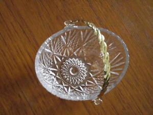 small crystal candy dish Strathcona County Edmonton Area image 2