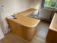 Wooden Desk or Computer Workstation