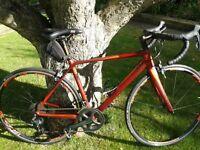 Cube Axial WLS GTC SL Carbon ladies Road bike 53cm Redwood'n'Flashred 2015 model
