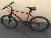 Red bike for sale