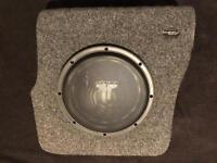 "Auto Acoustics Stealthbox Sub Enclosure For VW Golf Mk3 & JL 10"" Sub (10W3v2 D4)"
