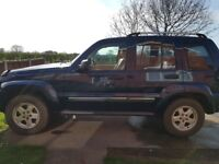 Jeep Cherokee Liberty 3.7L petrol and LPG conversion