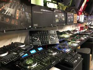 DJ TABLE * TOUT EN UN -  MIXER - MULTI PLAYER * PIONEER - DENON - NUMARK - RANE - TRAKTOR - MASCHINE - RELOOP * ET PLUS