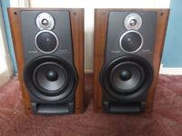 Aiwa SX-NAVH8 3-way base reflex speakers