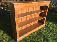 Large 4ft pine bookcase