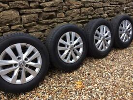 VW T6 T5 original alloy wheels immaculate condition