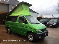 STUNNING Unique Mazda Bongo, DIESEL, AUTOMATIC, 4 WHEEL DRIVE, 4 berth Camper 2.5tdFully restored!