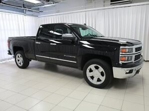 2014 Chevrolet Silverado 1500 LTZ Z71 DOUBLE CAB w/ LEATHER, 20""