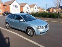 Quick sale Audi A3 Hatchback (2003 - 2008) 8P 2.0 FSI SE 3dr 12months MOT