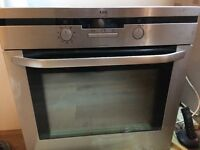 AEG intergrated oven