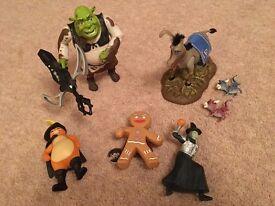 Shrek play figures