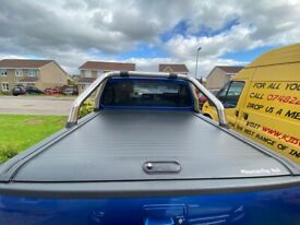 Volkswagen Amarok MountainTop Roll Cover & tear silver style bars for sale