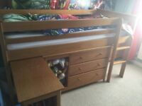 Child's single cabin bed