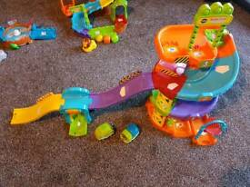 Huge bundle of vtech toot toot