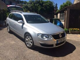 2008 VW PASSAT 2.0 TDI SE ESTATE SILVER