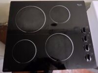"""Whirlpoll""Ceramic 4-burner Built-in Hob...Can be delivered.."