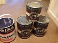 Farrow & Ball probably the best paint on the market . + other Materials for sale wallpaper etc .