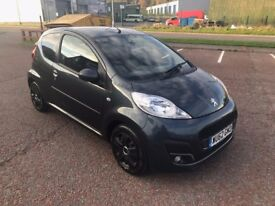 peugeot 107 62 plate low mileage only 52000 full service history