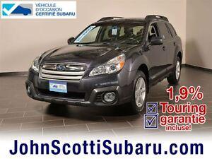 2013 Subaru Outback 2.5i Touring 1.9% Manuelle