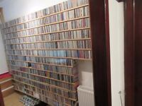 LARGE CD ALBUM MUSIC COLLECTION 3000+ CD'S + EXTRAS
