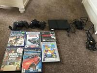 PlayStation 2 slim plus games