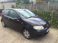 PART EX BARGAIN TO CLEAR FIAT PUNTO 1.2 MOT UNTIL DECEMBER 80,000 MILES