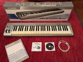M Audio 61es Keystation with box