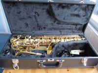 Dixon Super Deluxe Alto Saxophone