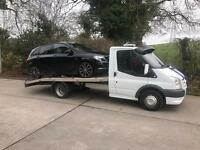Breakdown recovery/car/van transport 24hr from £25