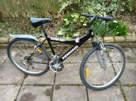 2 x mountainbike bicycles for spares or repair 1 x women`s and 1 x men`s cheap