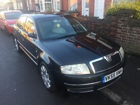 SKODA SUPERB LIMITED EDITION 100 1.9TDI...........