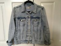 TopShop Acid Wash denim jacket
