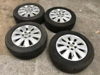 SET OF 4 VAUXHALL VECTRA WHEELS 16""