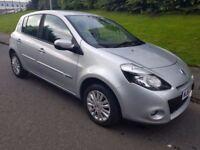 2012 Renault Clio 1.2 i music Low Miles Aug 2018 MOT. 3 month scotsure warranty