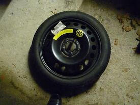 16 in. vauxhall emergency spare wheel .5 stud