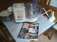 COLLECTED ** Braun Food Processor complete *FREE *